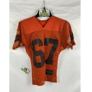 Vintage Football Small Mesh Practice Jersey Browns